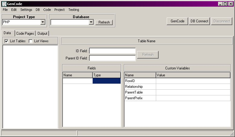 CodeScribe Main Window